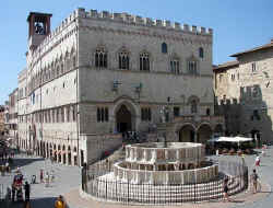Perugia fountain